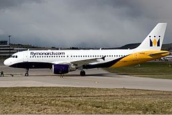 Monarch Airlines Airbus A320 Watt.jpg