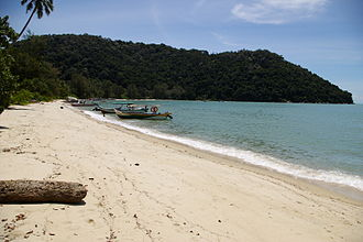 Teluk Bahang - Monkey Beach is one of the handful of beaches within the Penang National Park.