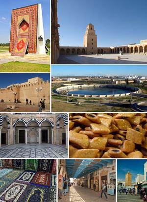 Kairouan - Image: Montage ville de Kairouan