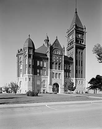 Montgomery County, Iowa - Image: Montgomery County Courthouse, Red Oak