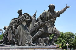 Monument of Skopje's Liberators 5.JPG