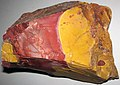 Mookaite (Windalia Radiolarite Formation, Lower Cretaceous; Western Australia) 21 (48785590156).jpg