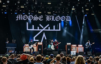 Picture of a band or musician: Moose Blood