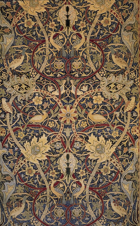Morris Bullerswood carpet detail c 1889