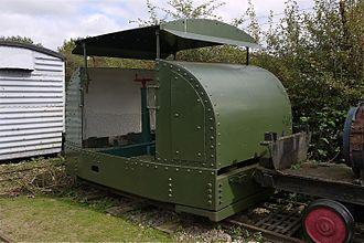 Motor Rail - Image: Motor Rail Simplex Armoured Diesel Engine 2ft Gauge. Irchester Narrow Gauge Railway Museum Flickr mick Lumix