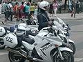 Motorcycle police, Moottoripyörä poliisi 2.JPG
