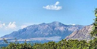 Ben Lomond Mountain (Utah) - Image: Mount Ben Lomond in Ogden Utah
