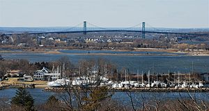 Mount Hope Bridge - View of Mount Hope Bridge