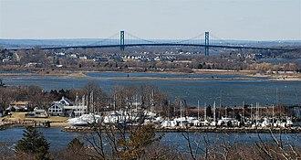 Mount Hope Bridge - View of Mount Hope Bridge
