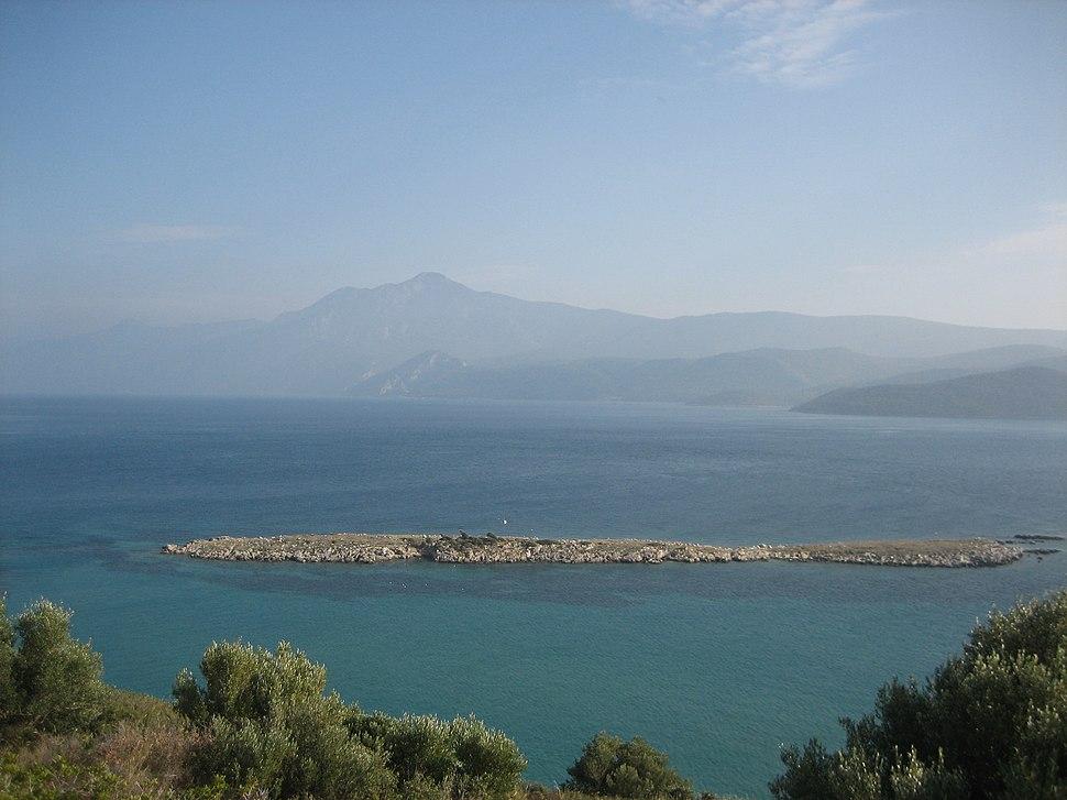 Mount Mycale and Mycale Strait
