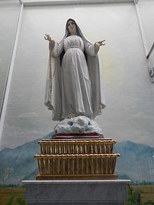 Nostra Signora di Lipa, Maria mediatrice di tutte le grazie