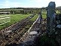 Muddy gateway - geograph.org.uk - 1637656.jpg
