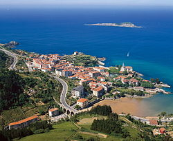 Mundaka and Izaro Island