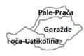 Municipalities of Bosnian-Podrinje Canton Goražde.png