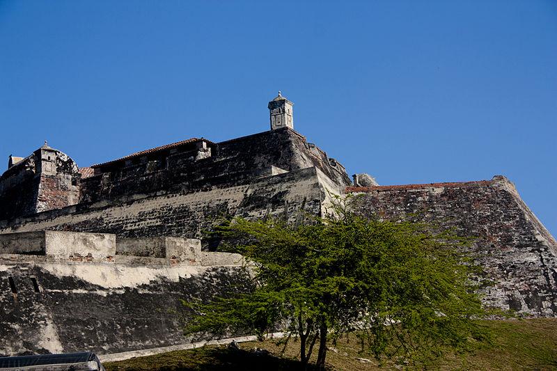 File:Muralla - Cartagena de Indias - Bolivar - Colombia - ANDREA GAETANO.JPG