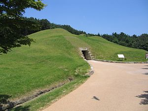 Baekje Historic Areas - Tomb of King Muryeong, a royal tomb at Songsan-ri