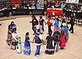 Muscogee Nation dance - Smithsonian National Museum of the Native American - 2012 (8197188213).jpg