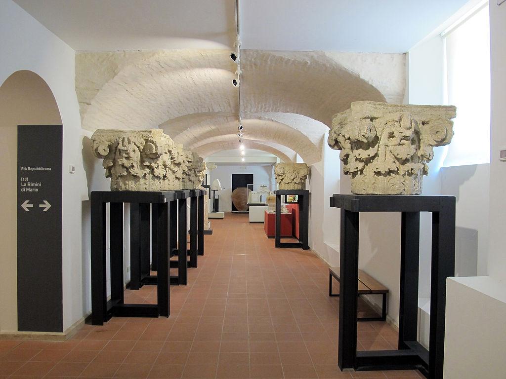 File museo di rimini sezione archeologica piano for Progettista del piano interrato