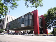 São Paulo Museum of Art in São Paulo, Brazil.
