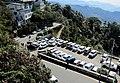 Mussoorie Uttarakhand India Parking Lot November 2010.jpg