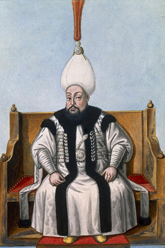 Russo-Turkish War (1768–1774) - Mustafa III in his royal robes.