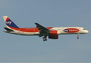 MyTravel Airways Boeing 757 Spijkers.jpg