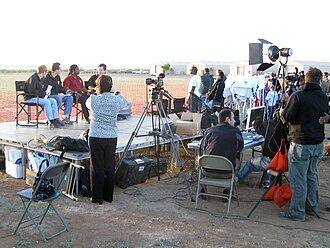 NASA Edge - NASA EDGE broadcasting live from White Sands Missile Range in 2010