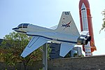 NASA T-38 - Northrup T-38 Talon, 1965 - Kennedy Space Center - Cape Canaveral, Florida - DDSC02473.jpg