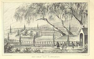 Longwood, Saint Helena - Napoleon's Grave (1838)