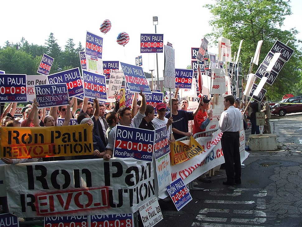 NH Paul supporters-5June07