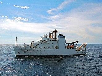 Bell M. Shimada - NOAAS ''Bell M. Shimada'' (R 227)