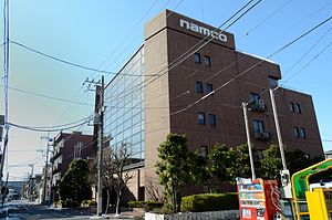 Namco headquarters building.jpg