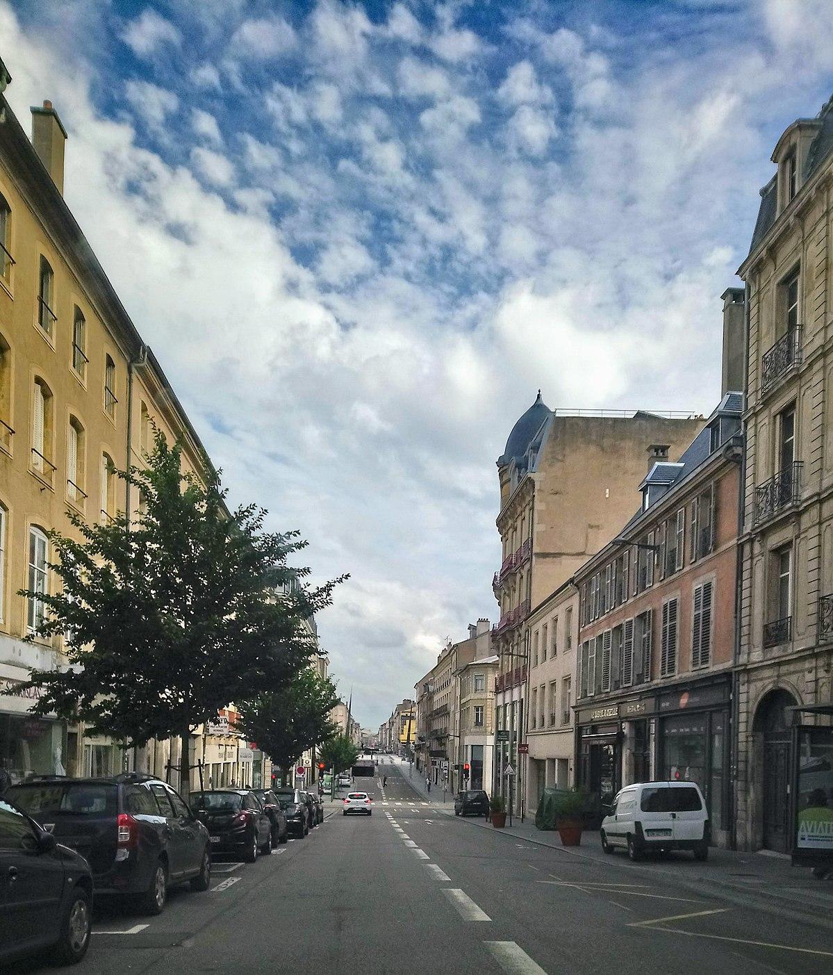 Rue des carmes nancy wikip dia for Rue catherine opalinska nancy