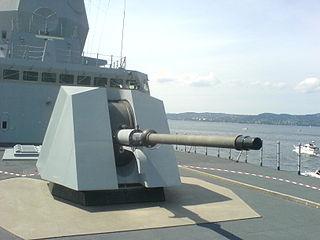 OTO Melara 76 mm Naval artillery piece