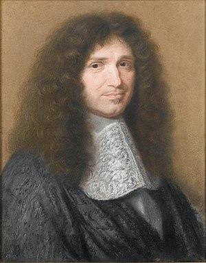Barthélemy Hervart - Jean-Baptiste Colbert by Robert Nanteuil (1676).