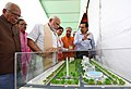 Narendra Modi dedicates the Bansagar Canal Project to the Nation, lays the Foundation Stone of Mirzapur Medical College and inaugurates 100 Jan Aushadhi Kendras in the State, at a function, in Mirzapur, Uttar Pradesh (1).JPG