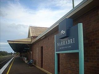 Narrabri railway station
