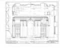 Nassau Hall, Nassau Street, Princeton, Mercer County, NJ HABS NJ,11-PRINT,4B- (sheet 17 of 25).png