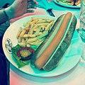 Nat a englouti toute sa saucisse sans sourciller... -hotdog cc @alexmi @imatpro @batmanuel (8675435627).jpg