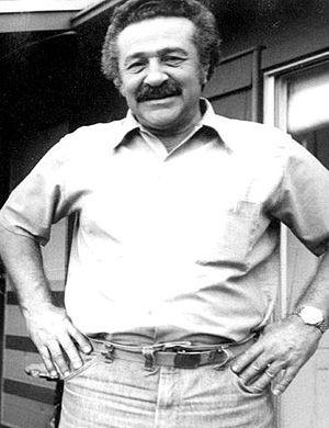 Nathan Oliveira - Nathan Oliveira at his Stanford home, 1977