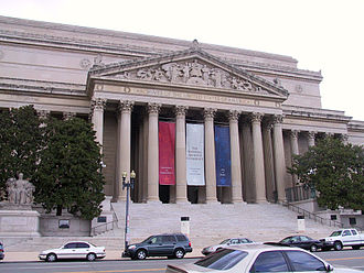 Sandy Berger - The National Archives building in Washington, D.C..