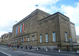 National Library of Scotland - The main building on George IV Bridge