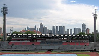 Rugby union in Singapore - The Former National Stadium which closed in 2007 hosted many of Singapore's rugby internationals.