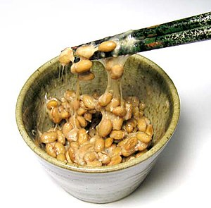 Fermentation in food processing - Nattō, a Japanese fermented soybean food