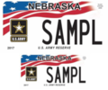 Nebraska United States Army Reserve license plate.png