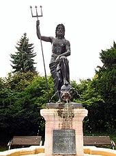 Der Neptunbrunnen in Nordhausen (Quelle: Wikimedia)