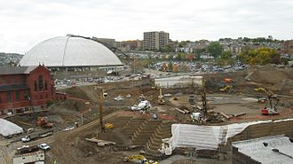 Sports in Pittsburgh - Pittsburgh Civic Arena was replaced by the venue now known as PPG Paints Arena in 2010.