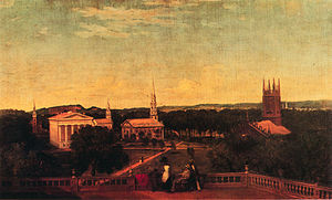 Thomas Prichard Rossiter - New Haven Green, by Rossiter, c.1850-1853