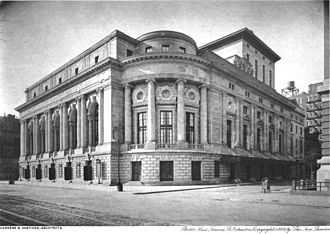 Century Theatre (New York City) - The New Theatre on Central Park West, New York City, 1909.