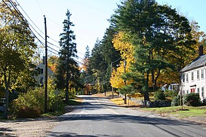 Newfields, New Hampshire - Image: Newfields nh main street 1